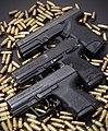 Steyr SA1,S-A1, HK USP Compact, HK P2000SK (25625296866).jpg