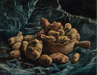Patate qui danse  - Page 2 330px-Still_Life_with_an_Earthen_Bowl_and_Potatoes_by_Vincent_van_Gogh