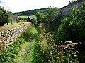 Stokesay Castle, the dry moat - geograph.org.uk - 1507316.jpg