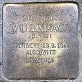 Stolperstein Clausewitzstr 2 (Charl) Wilhelm Mayer.jpg