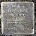Stolperstein Clayallee 323 (Zehl) Hilda Ehrke.jpg