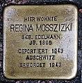 Stolperstein Elbstr 28 (Meißen) Regina Mosszizki.jpg
