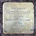 Stolperstein Hektorstr 4 (Halsee) Betty Tischler.jpg