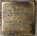 Stolperstein Hobrechtstr 57 (Neuk) Marie Schlesinger.jpg