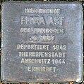 Stolperstein Köln, Flora Ast (Goltsteinstraße 144).jpg