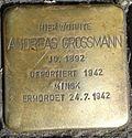 Stolperstein Köln Weidengasse 30 Andreas Grossmann.jpg