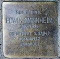 Stolperstein Livländische Str 28 (Wilmd) Edwin Mannheim.jpg