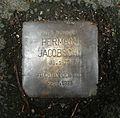 Stolperstein Marburg Herman Jacobsohn Schückingstraße 24.JPG