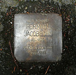 Stolperstein Marburg Herman Jacobsohn Schückingstraße 24.JPG
