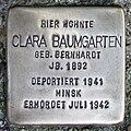Stolperstein Verden - Clara Baumgarten (1892).jpg