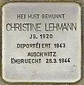 Stolperstein für Christine Lehmann (Differdingen).jpg