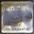Stolpersteine Köln, Irma Jülich (Engelbertstraße 44).jpg