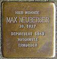 Stolpersteine Köln, Max Neuberger (Trierer Straße 17).jpg