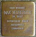 Stumbling block for Max Neuberger (Trierer Straße 17)