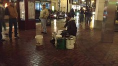 File:Street drummer in Portland, Oregon.webm