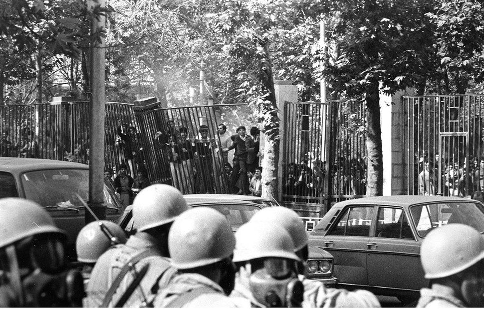 Students and the Army, University of Tehran - 4 November 1978