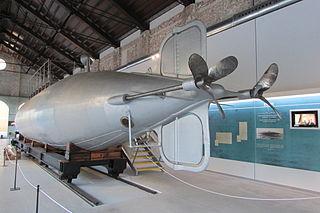 submarino de Peral en el Museo Naval de Cartagena