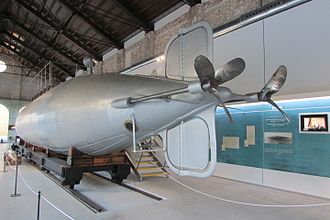 Peral Submarine - The Peral Submarine in  2013 in the new Naval Museum of Cartagena.