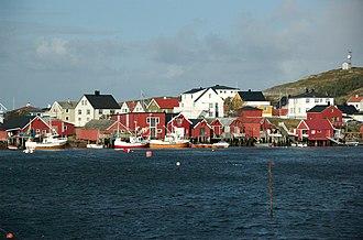 Frøya, Sør-Trøndelag - View of Sula in Frøya