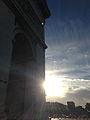 Sunrise at the Arc de Triomphe.jpg