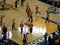 Suns pregame at Phoenix at Golden State 3-15-09 1.JPG