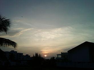 Vizianagaram - Sunset at Vizianagaram