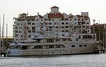 Superyacht MY Lady M II at Marina Bay, Gibraltar.jpg