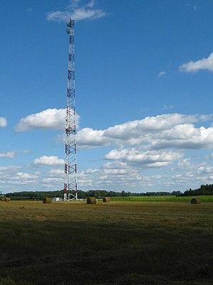 Suraż - Image: Suraz Radiolinia na ZZU–105