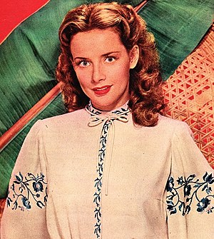 Susan Peters - Peters in a publicity photo, 1944