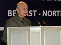 Sushilkumar Shinde addressing at the felicitation function of the Indian Police Contingents, who participate in the 15th World Police and Fire Games 2013 held in Belfast, Northern Ireland, in New Delhi on October 29, 2013.jpg