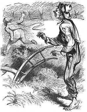 George Washington Harris - Sut Lovingood, as drawn in Harris's 1867 book, Sut Lovingood's Yarns
