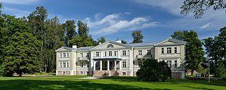 Viljandi County - Image: Suure Kõpu mõisa peahoone 2012