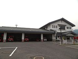 Suzaka city fire station.JPG