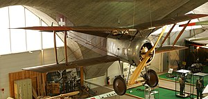 Hanriot HD.1 - Swiss HD.1 in a museum