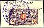 Switzerland federal consular revenue 1918 5Fr-16.jpg