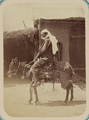 Syr Darya Oblast. City of Tashkent and the Types of People Seen on Its Streets. A Man Riding a Donkey WDL10951.png
