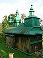 Szczawne. Cerkiew gr.-kat. p.w. Zaśnięcia Marii, obecnie prawosławna, 1889 rok..JPG