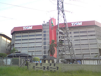 LATAM Brasil - The headquarters of TAM