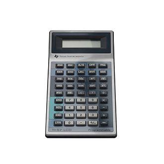 TI-57 - The programmable calculator TI-57 with liquid crystal display