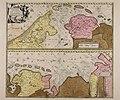 Tabula nova in qua accuratè demonstratur tota navigatio ab Amstelodami statione per Vada vulgo de Watten Hamburgum usque - CBT 5873498.jpg
