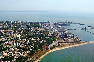Rostov Oblast - The port of Taganrog
