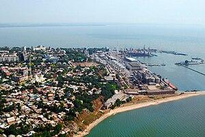 Rostov Oblast - The port of Taganrog