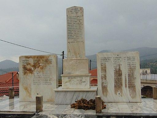 Taksiarhes Evia monument