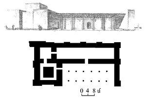 Ḫaldi - Image: Tample of Khaldi plan