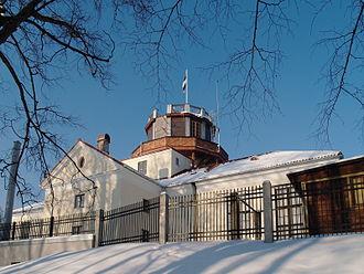 University of Tartu Old Observatory - Image: Tartu Tähetorn veebrauaris 2012