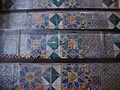 Taulellets de l'escala d'honor del Palau Ducal de Gandia.JPG