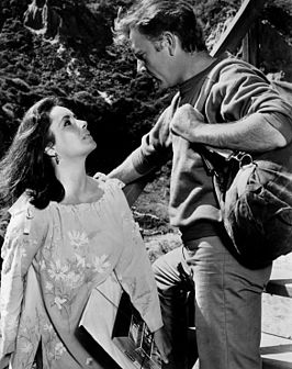 Elizabeth Taylor en Richard Burton in The Sandpiper