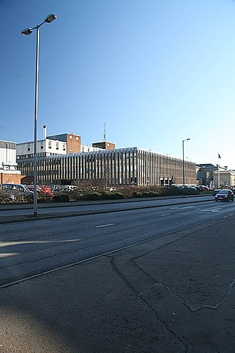 Tayside Police - Tayside Police Headquarters in Dundee