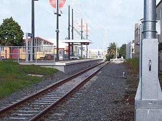Te Papapa railway station - Te Papapa station