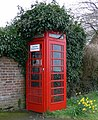 Telephone Box along Church Lane in Chilcote - geograph.org.uk - 743743.jpg